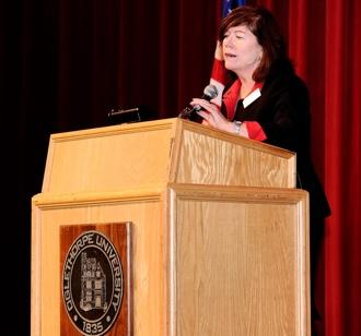 Ceree Eberly, Chair, Oglethorpe University Board of Trustee